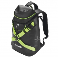Рюкзак HEAD Rebels Backpack Racing (blackneon yellow)