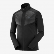 Джемпер SALOMON GRID FZ MID M Black